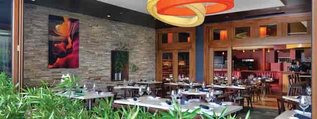 Rattan Pan-Asian Bistro dining room