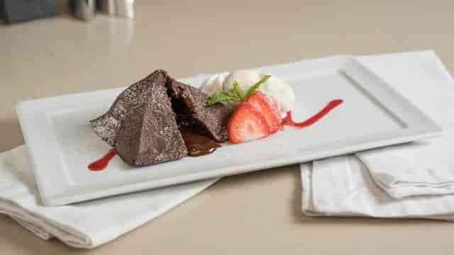 Belgian Chocolate Molten Lava Cake