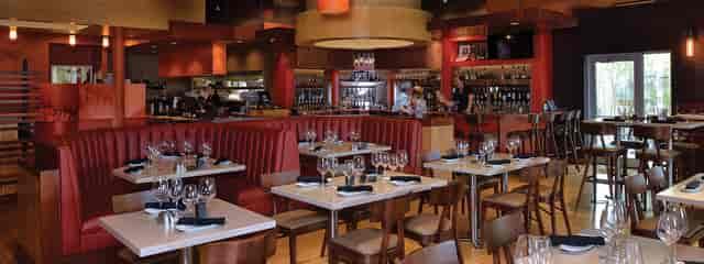 Wine bar room