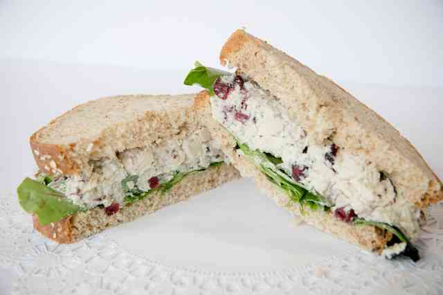 Tuna and Artichoke Sandwich