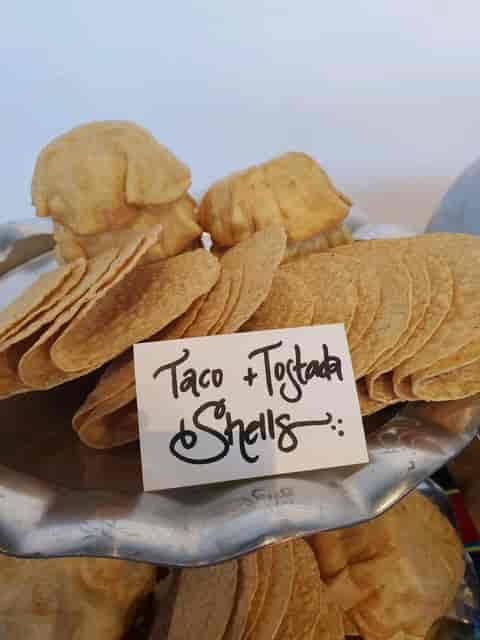 taco and tostada shells