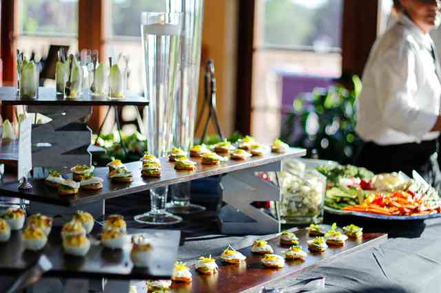 catered display