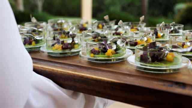 catered dishes