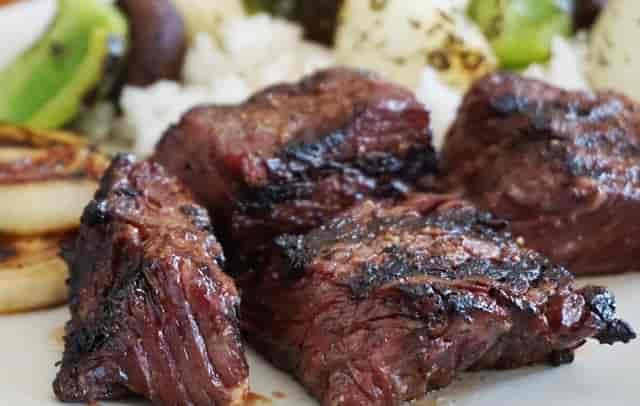 Bourbon Steak Tips