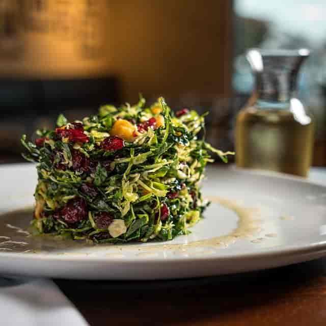 Kale & Brussel Sprout Salad
