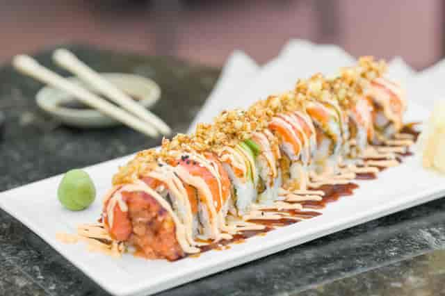 monkey sushi roll