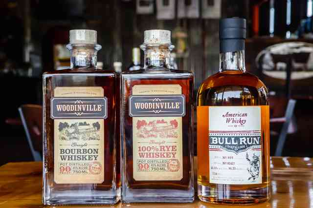local whiskies