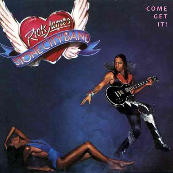 rick james album cover