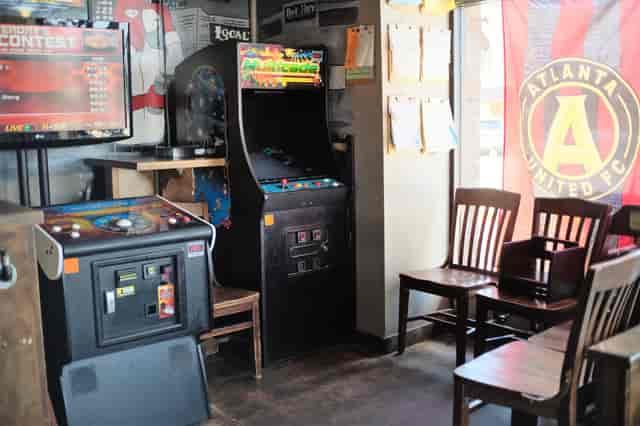 interior arcade games