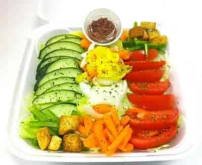 the dawg house salad