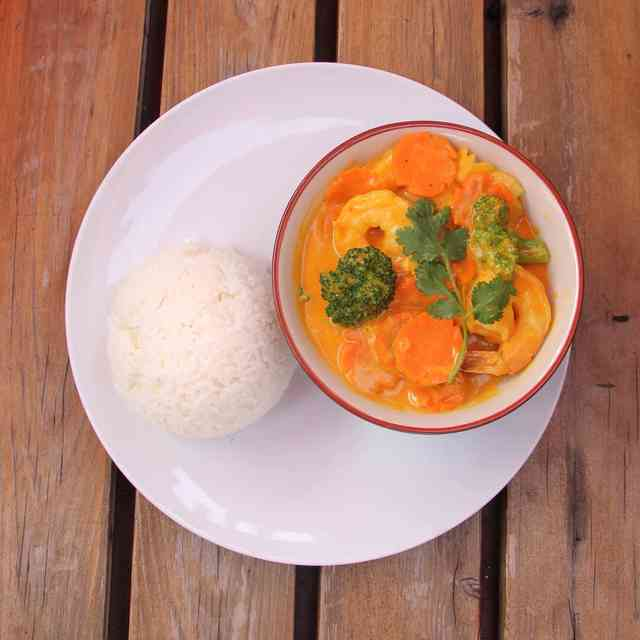Curry with Shrimp