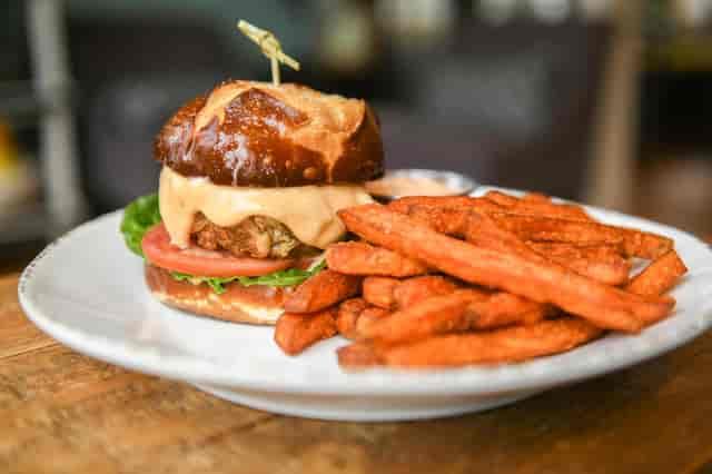 sweet potato burger
