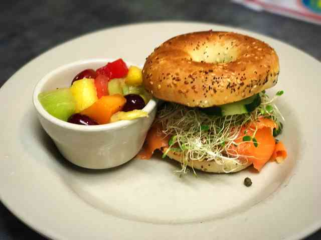 bagel and lox special