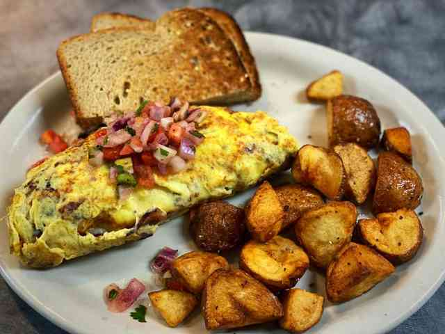 jalapeno popper omelette