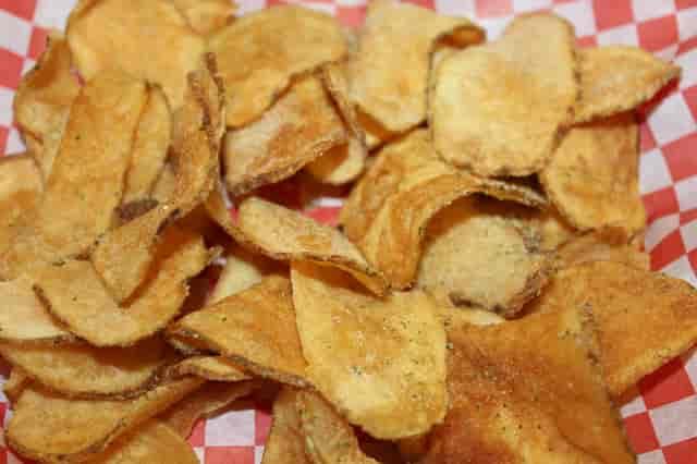 Homemade seasoned chips