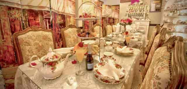 tea party set up
