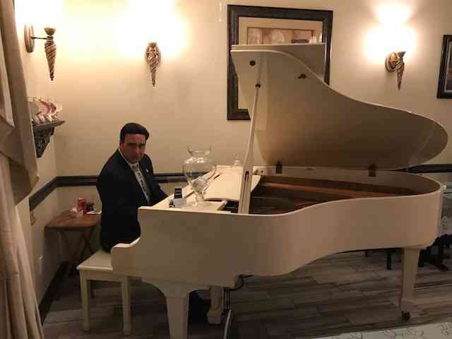 Jean Carlo on the Baby Grand