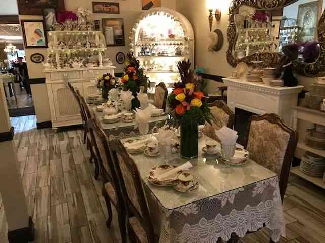 dining set up