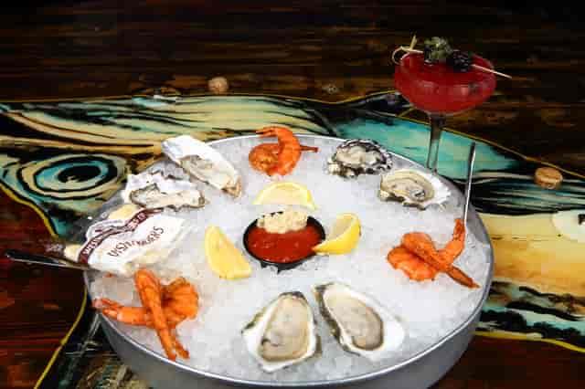 Shrimp and Oyster Platter