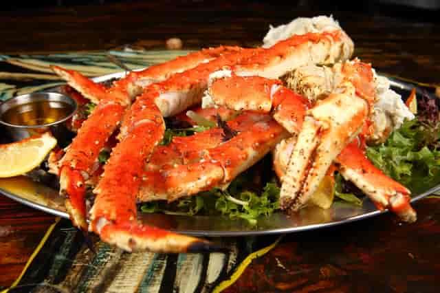 Alaskan King Crab Clusters
