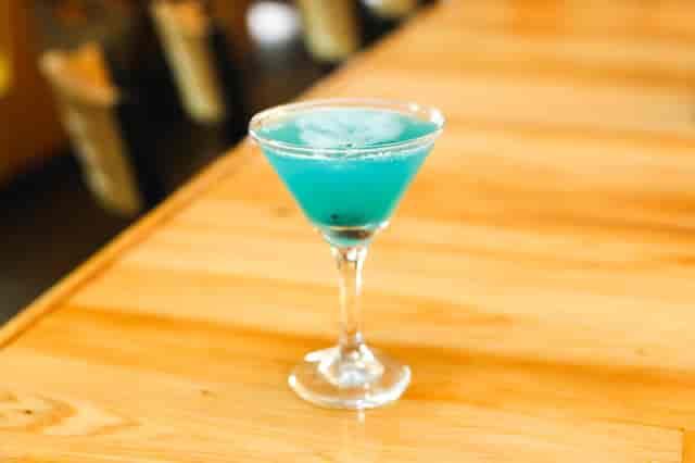 Coco Blue Martini