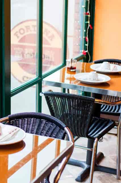 Fortuna Cafe Chinese Restaurant Interior