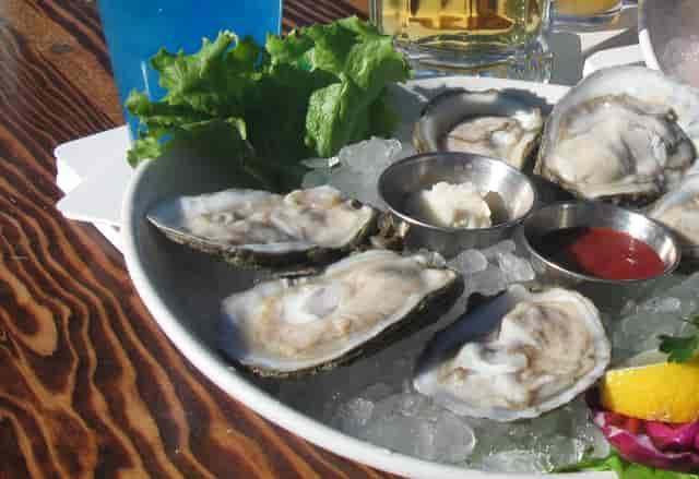 Oyster Bar Menu