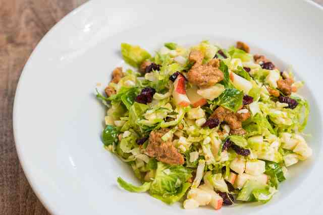Shaved Brussel Salad