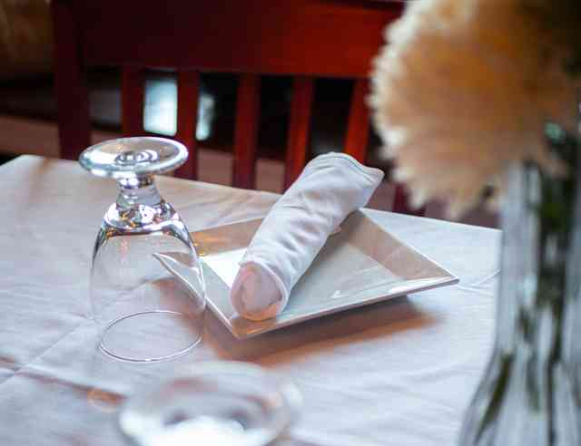 table with placesetting