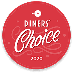 """2020 Opentable's Diner's Choice for """"Hot Spot"""""""
