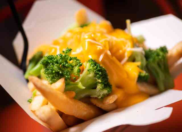 Broccoli Cheese Fries
