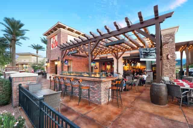 Restaurant Porch Side