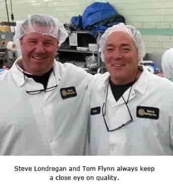 Steve Londegran and Tom Flynn