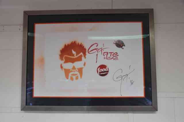 Guy Fieri's Signature