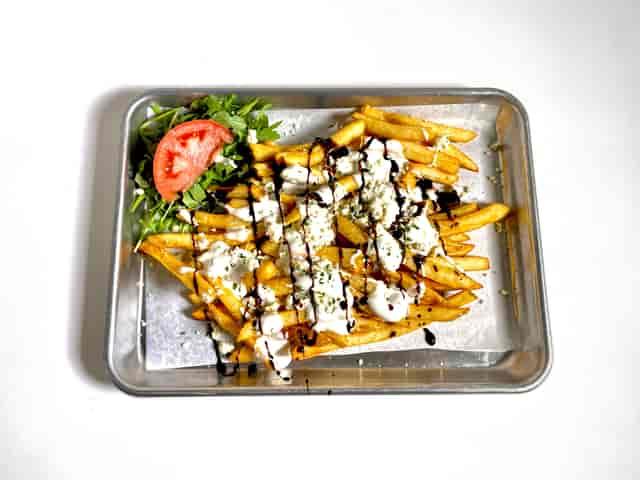Black & Blue Loaded Fries