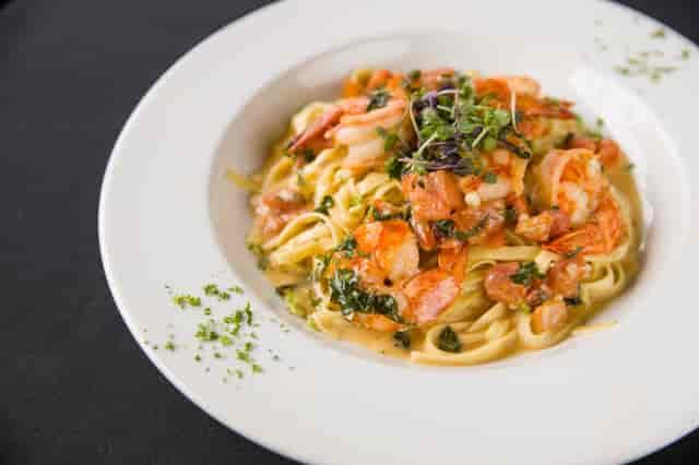 Seafood Pasta Entree