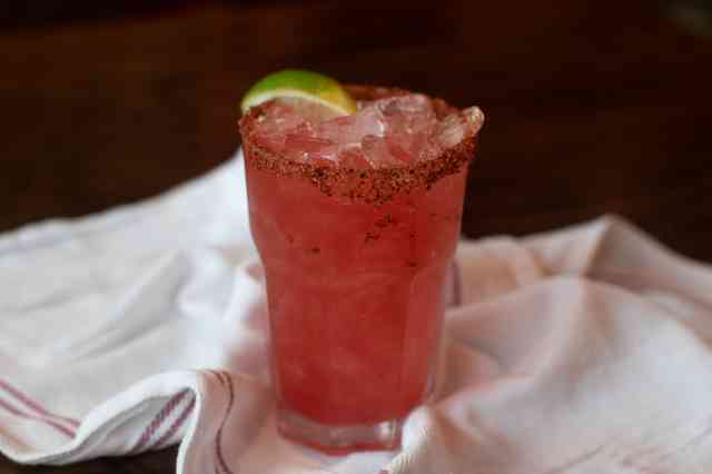 Mexican candy margarita