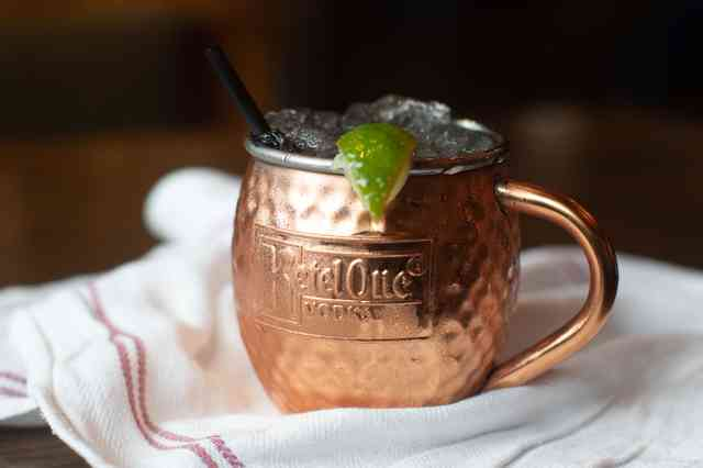 Absolute vodka moscow mule