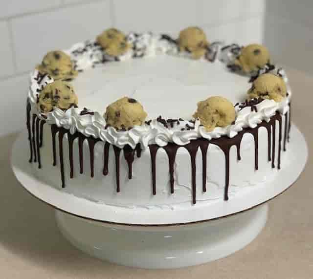 cookie dough cake