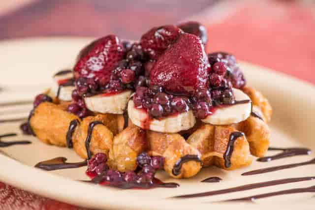 fruit full waffle