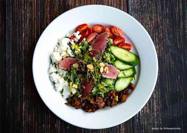 Chop Chop Salad (Seared Ahi optional)