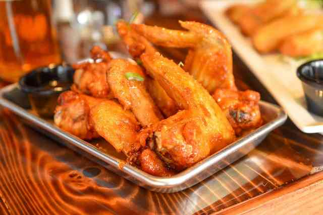 Spicy Sticky Wings