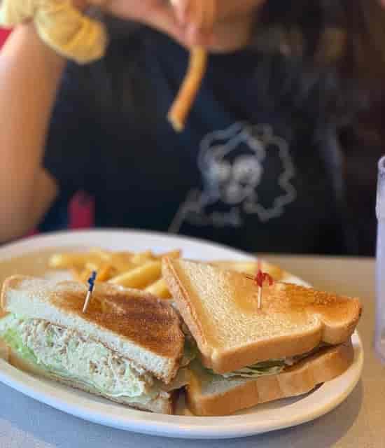 Chicken Saland Sandwich