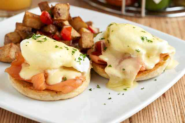 lox royal benedict