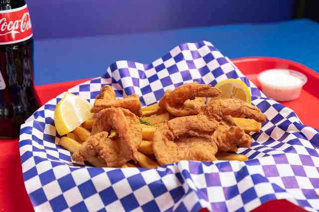 shrimp and chips gallery