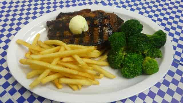 New York Steak Plate