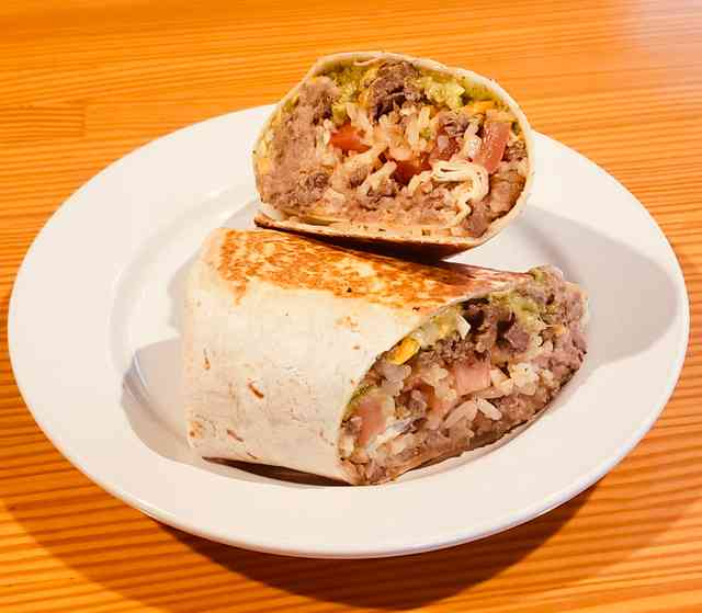 Beach Comber Burrito