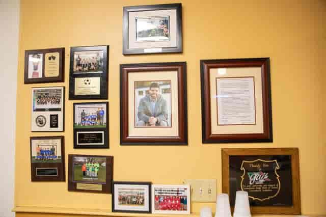Gio's Interior Awards Wall
