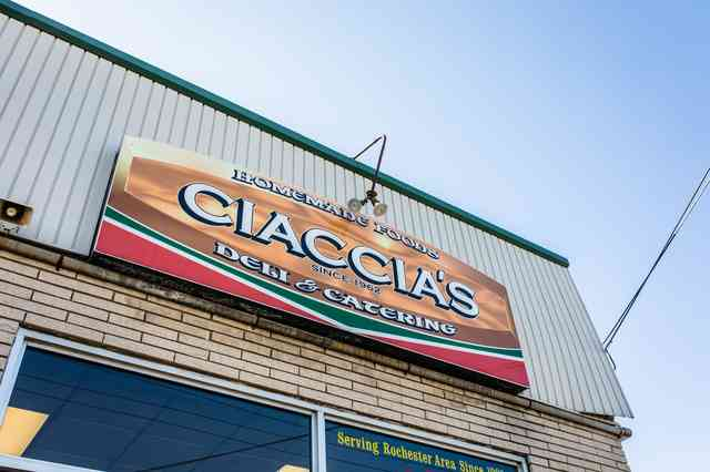 Ciaccia's Exterior store front