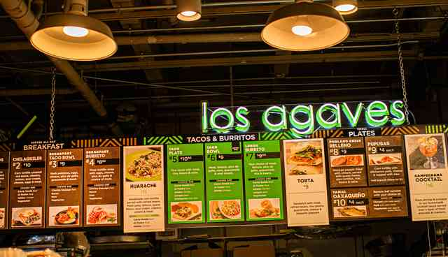 los agaves menu